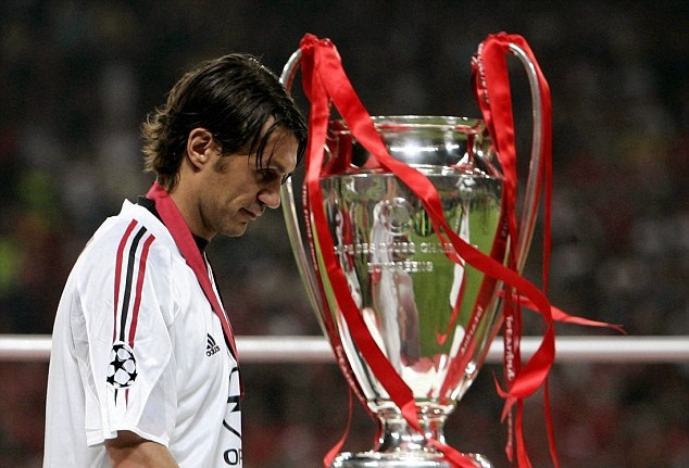 Match Worn & Signed Paolo Maldini #3 First Half Shirt Champions League Final 2005 vs Liverpool in Istanbul
